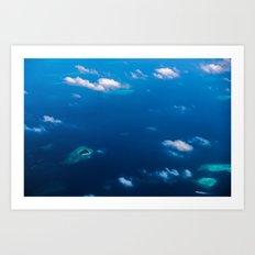 Above Paradise 2 Art Print
