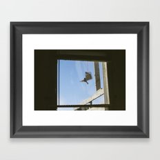 view from my window . iv Framed Art Print