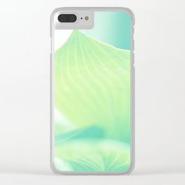 Tropical NO2 Clear iPhone Case