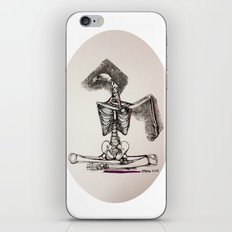 Mixed Media Drawing : Metamorphic Transition 1  iPhone & iPod Skin