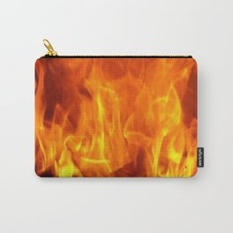 fire pattern home decor Carry-All Pouch