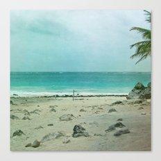 Tulum Ombre Canvas Print