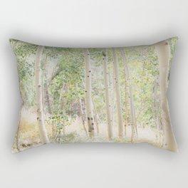 The Aspen Grove Rectangular Pillow