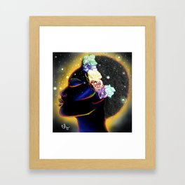 black beauty Framed Art Print