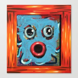 ooh tooter Canvas Print