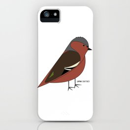 Common Chaffinch iPhone Case