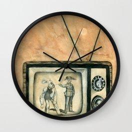 Bunny Ears Disturbance Wall Clock