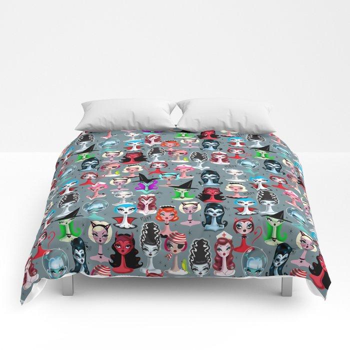 Spooky Dolls Comforters