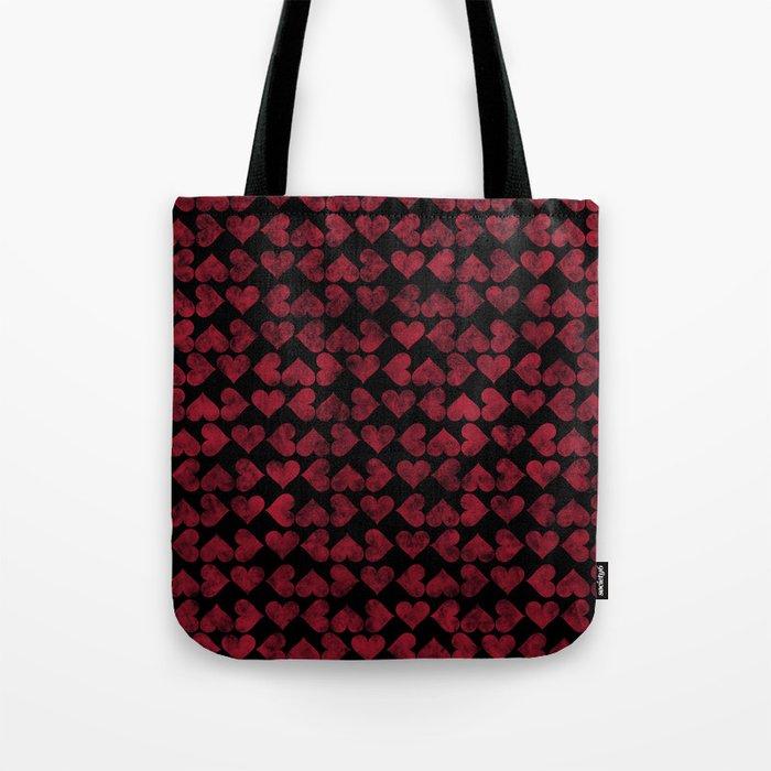 Colorful Love Pattern XV Tote Bag