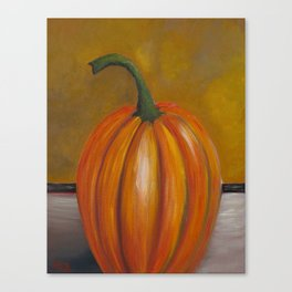 Pumpkin #1 Canvas Print
