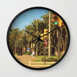 Trafficlight Wall Clock