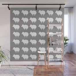 Don't be a sheep, Be a Llama Wall Mural