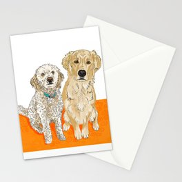 Two Buddies Stationery Cards