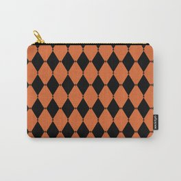 Harlequin Skulls (Halloween) Carry-All Pouch