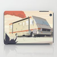 breaking bad iPad Cases featuring Breaking Bad by Fabiano Souza