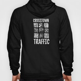Crosstown Traffic - BW Hoody