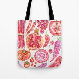 Harvest of Red - Neutral Tote Bag