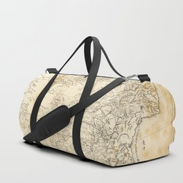 Map of China Chinese-Tartary & Tibet (1834) Duffle Bag