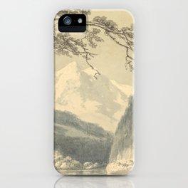 "J.M.W. Turner ""Near Grindelwald"" iPhone Case"