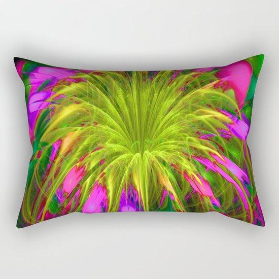 Fiesta Flower III Rectangular Pillow