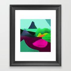Soft World Framed Art Print