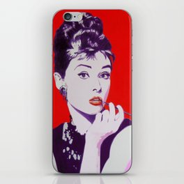 Audrey iPhone Skin