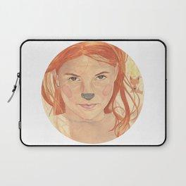 The fox girl Laptop Sleeve