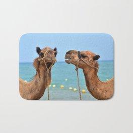 Beach camels Bath Mat