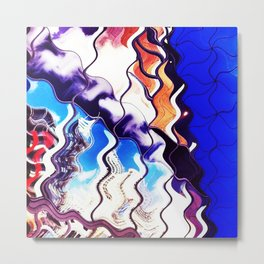 City Wave Metal Print