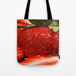 berry berry strawberry Tote Bag