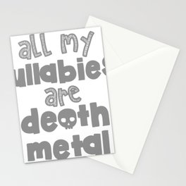 Lullabies Stationery Cards