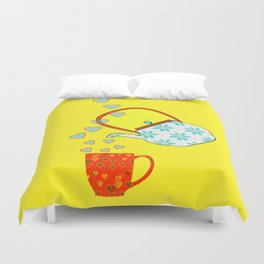 A Nice Cup Of Tea Duvet Cover