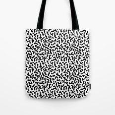 Berlin Boombox Oldschool Pattern Tote Bag