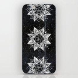 Flower Mandala in the Stars iPhone Skin