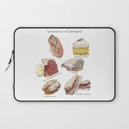 Sandwiches of Cleveland Laptop Sleeve