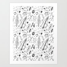 Forest Treasures Art Print