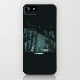 Chasing fireflies iPhone Case