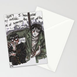 Mob and Mogami Stationery Cards