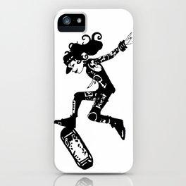 skatergirl iPhone Case