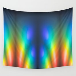 Colour burst Wall Tapestry