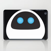 pixar iPad Cases featuring PIXAR CHARACTER POSTER - Eve - WALL-E by Marco Calignano