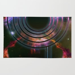 Wall of Space Rug