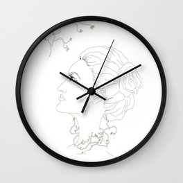 Spring in the soul Wall Clock