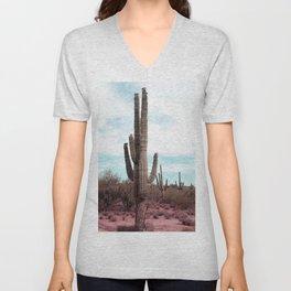 Vibrant Desert Unisex V-Neck