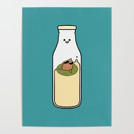 Almond Milk and Chill Poster