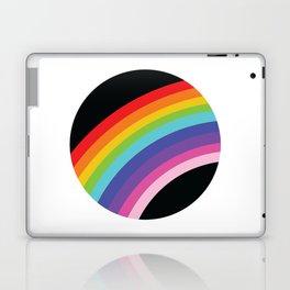 Circular Rainbow Laptop & iPad Skin