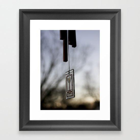 Chime Framed Art Print