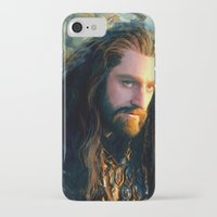 thorin iPhone & iPod Cases featuring Thorin OakenShield by Alba Palacio