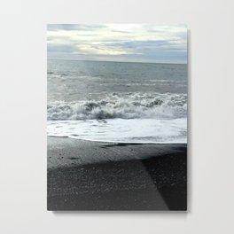 Icelandic waves Metal Print