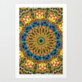 Royal Sun Art Print